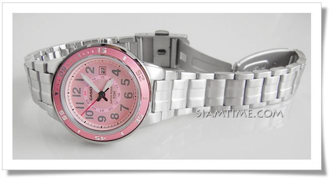 นาฬิกาน่ารักๆ ยี่ห้อ casio รุ่น LTP-1298D-4BVDF