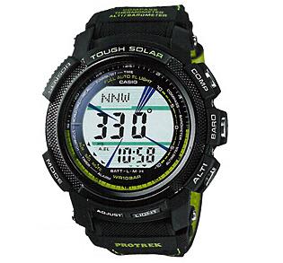 นาฬิกา ข้อมือ บุรุษ ยี่ห้อ Casio ร่น PRG-200GB-3DR