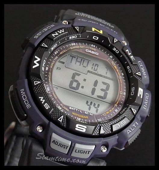 นาฬิกา ข้อมือ บุรุษ ยี่ห้อ Casio ร่น PRG-240B-2DR
