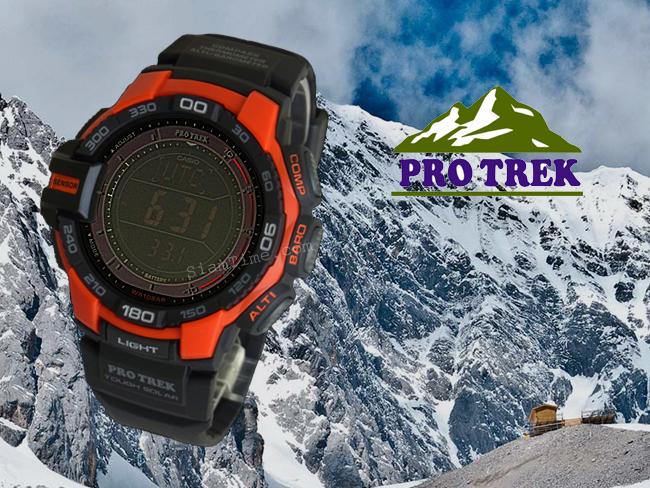 นาฬิกา ข้อมือ บุรุษ ยี่ห้อ Casio ร่น PRG-270-4ADR