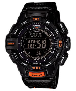 นาฬิกา ข้อมือ บุรุษ ยี่ห้อ Casio ร่น PRG-270B-1ADR