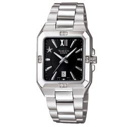 นาฬิกาข้อมือผู้หญิง ยี่ห้อ casio รุ่น SHE-4501D-1ADR