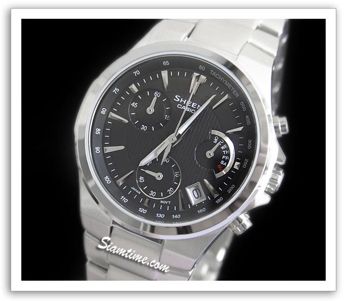 นาฬิกาข้อมือผู้หญิง ยี่ห้อ casio รุ่น SHE-5019D-1ADR
