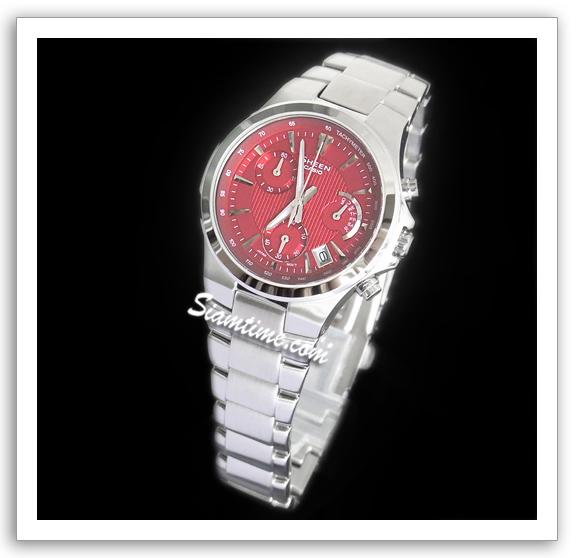 นาฬิกาข้อมือผู้หญิง ยี่ห้อ casio รุ่น SHE-5019D-4ADR