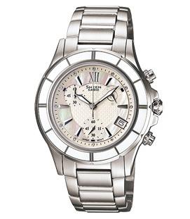 นาฬิกาข้อมือผู้หญิง ยี่ห้อ casio รุ่น SHE-5516D-7ADR