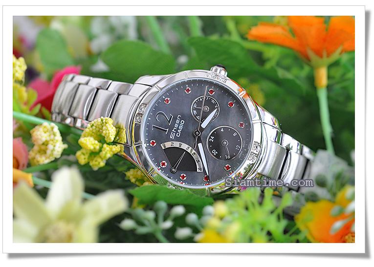 นาฬิกาข้อมือผู้หญิง ยี่ห้อ casio รุ่น SHN-3016DP-1ADR