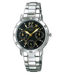นาฬิกาข้อมือผู้หญิง ยี่ห้อ casio รุ่น SHN-3020D-1ADR
