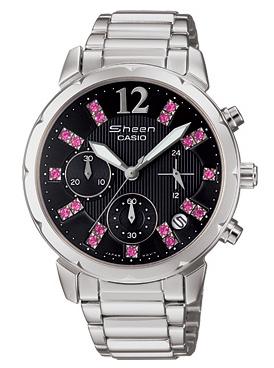 นาฬิกาข้อมือผู้หญิง ยี่ห้อ casio รุ่น SHN-5012D-1ADR