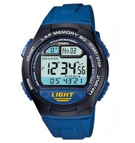 นาฬิกาข้อมือชาย ยี่ห้อ casio รุ่น W-734-2AVDF