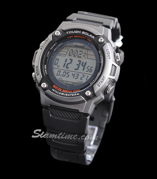 นาฬิกาข้อมือชาย ยี่ห้อ casio รุ่น W-S200H-1AVDF