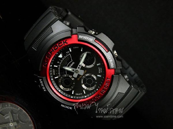 นาฬิกา G-Shock นาฬิกาสปอร์ต สไตล์นักกีฬา รุ่น AW-591