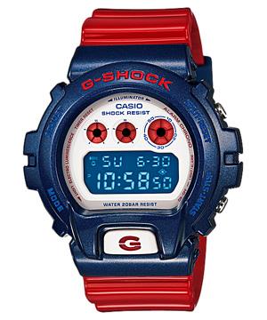 นาฬิกา G-Shock นาฬิกาบอกเวลา แบบดิจิตอล casio รุ่น DW-6900AC-2DR