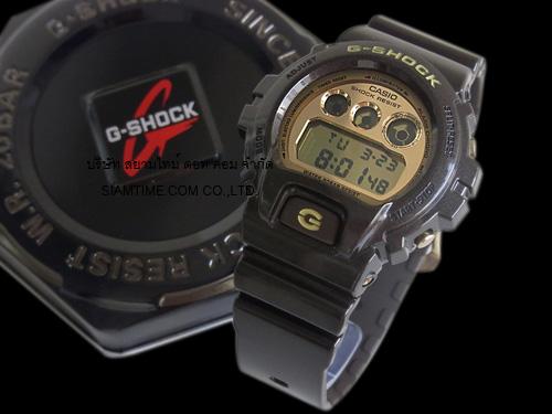 นาฬิกาบอกเวลา แบบดิจิตอล casio รุ่น DW-6900BR-5DR