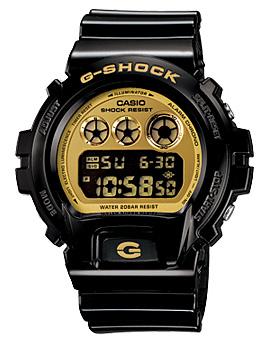 นาฬิกาบอกเวลา แบบดิจิตอล casio รุ่น DW-6900CB-1DR