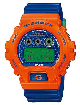 นาฬิกาบอกเวลา แบบดิจิตอล casio รุ่น DW-6900SC-4DR