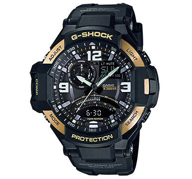 นาฬิกาข้อมือชาย ยี่ห้อ Casio รุ่น GA-1000-9GDR