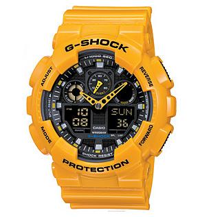 นาฬิกาข้อมือวัยรุ่น ยี่ห้อ casio รุ่น GA-100-9ADR