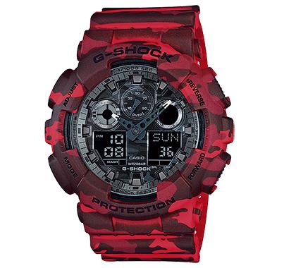 นาฬิกาออกใหม่ casio รุ่น GA-100CM-4ADR