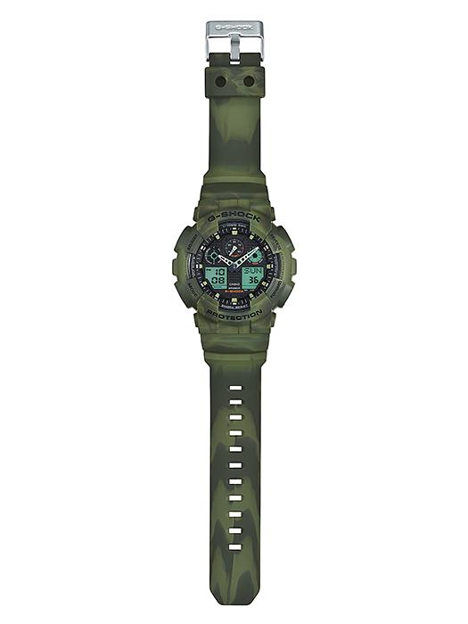 นาฬิกาข้อมือชาย casio รุ่น GA-100MM-3A