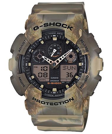 นาฬิกาข้อมือชาย casio รุ่น GA-100MM-5ADR