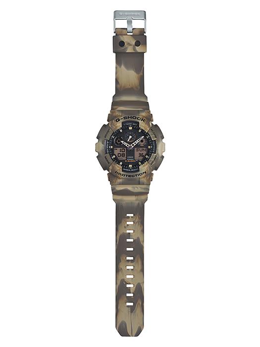 นาฬิกาข้อมือชาย casio รุ่น GA-100MM-5A