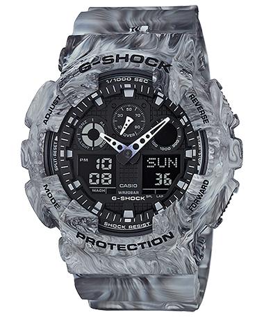 นาฬิกาข้อมือชาย casio รุ่น GA-100MM-8ADR