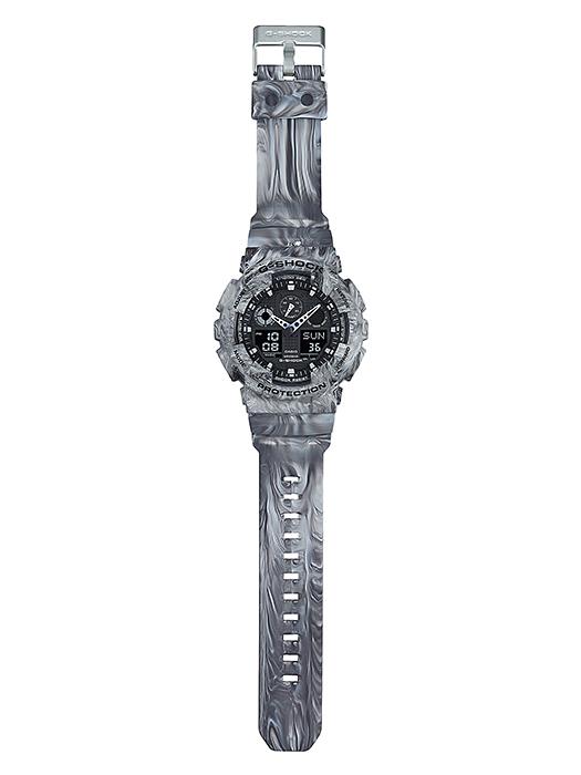 นาฬิกาข้อมือชาย casio รุ่น GA-100MM-8A