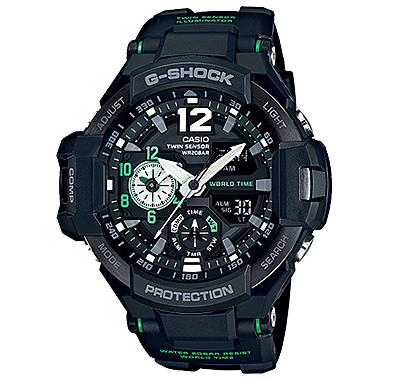 นาฬิกาข้อมือชาย ยี่ห้อ Casio รุ่น GA-1100-1A3DR