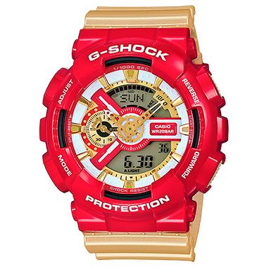นาฬิกาข้อมือชาย ยี่ห้อ Casio รุ่น GA-110CS-4ADR