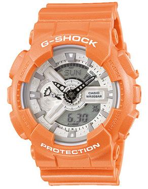 นาฬิกาข้อมือชาย ยี่ห้อ Casio รุ่น GA-110SG-4ADR