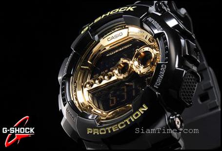 นาฬิกาข้อมือชาย ยี่ห้อ casio รุ่น GD-100GB-1DR