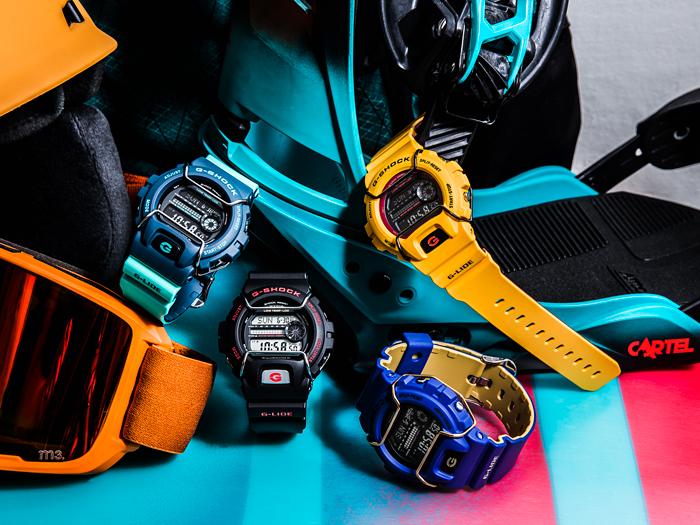 นาฬิกาข้อมือชาย ยี่ห้อ Casio รุ่น GLS-6900-9DR
