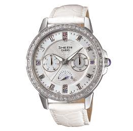 นาฬิกาข้อมือผู้หญิง ยี่ห้อ casio รุ่น SHE-3023L-7ADR