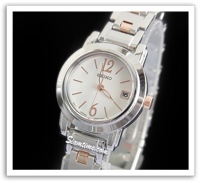 นาฬิกาผู้หญิง ยี่ห้อ seiko SXDC75