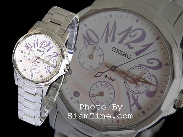 นาฬิกาผู้หญิง ยี่ห้อ seiko SKY741P1