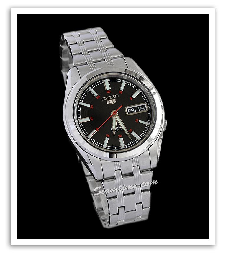 นาฬิกาข้อมือ  ยี่ห้อ ไซโก้ รุ่น SNKH09