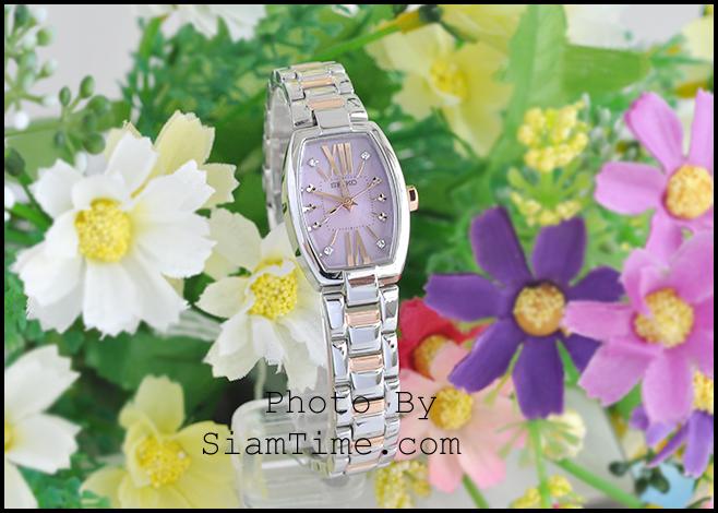 นาฬิกาผู้หญิง ยี่ห้อ seiko SUP039